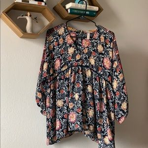 Knox Rose Floral Tunic Top
